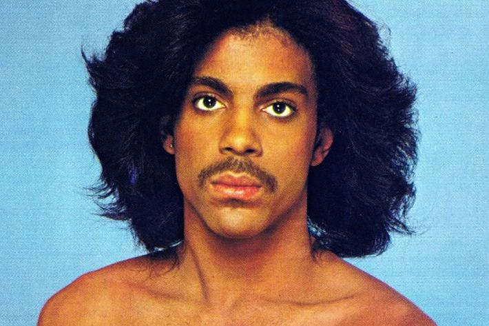 Prince and his fire blow-out.