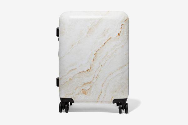 Calpak Metallic Marble Suitcase