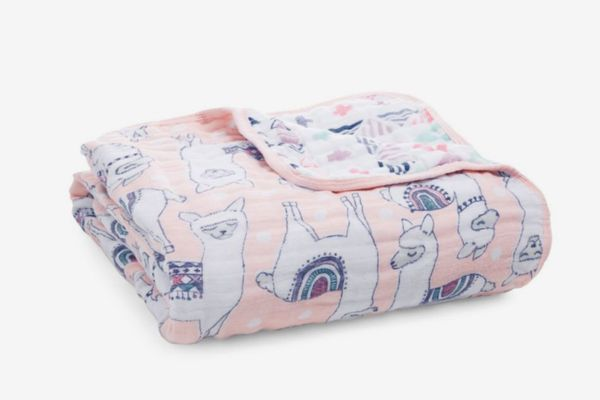 aden + anais Baby's Trail Blooms Dream Blanket