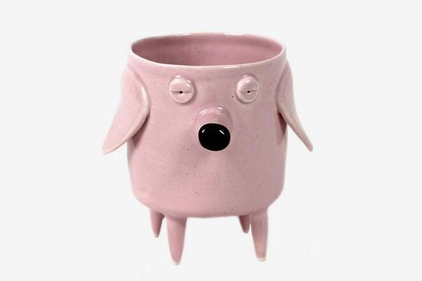 Bow Wow Wow Dog Planter