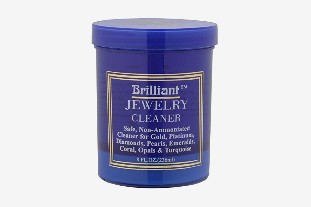 Brilliant Jewelry Cleaner With Cleaning Basket and Brush  (8 oz.)