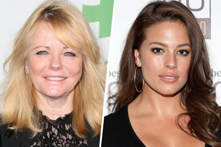 Cheryl Tiegs and Ashley Graham.