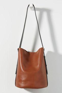 Georgia Colorblocked Bucket Bag