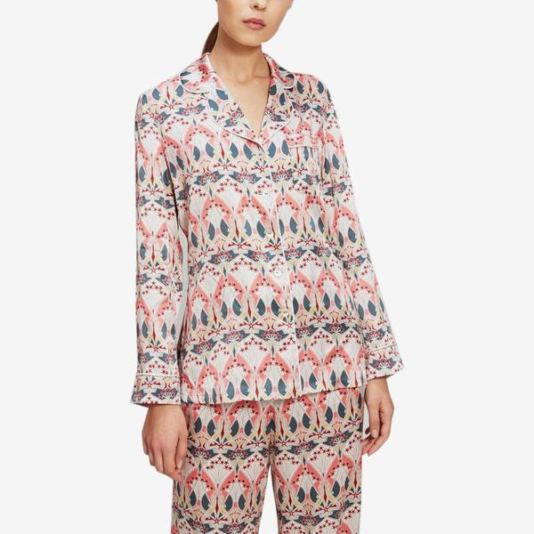 Ianthe Star Silk Charmeuse Pyjama Set