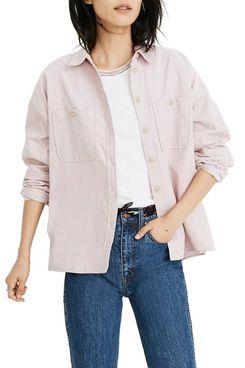 Madewell Corduroy Shirt Jacket