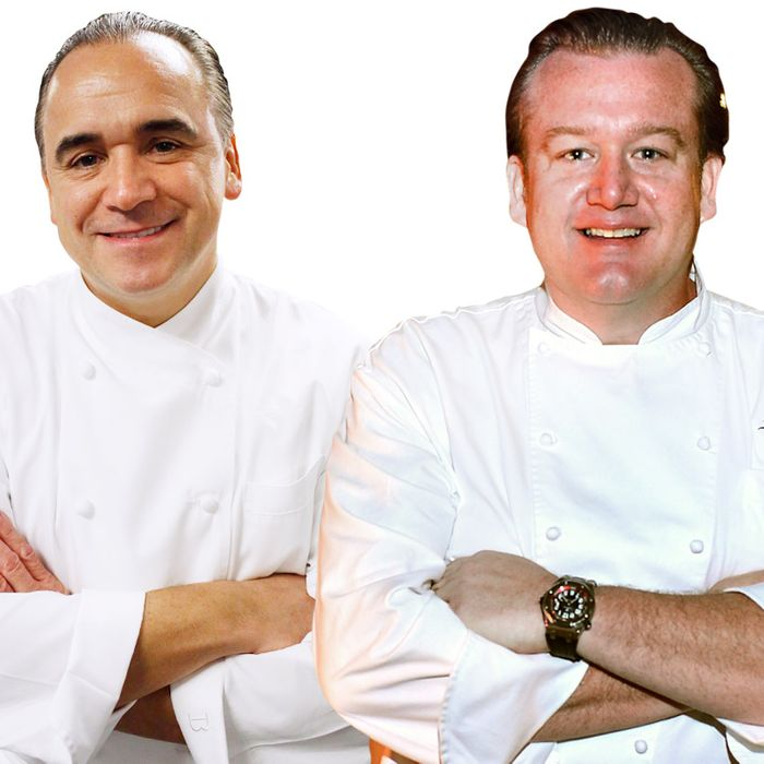 Two chefs who know a thing or two about opening new restaurants.