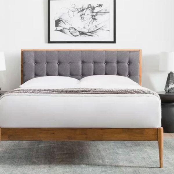 Adrienna Upholstered Platform Bed