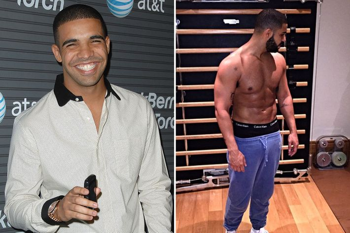 When Exactly Did Drake Get So Swoll