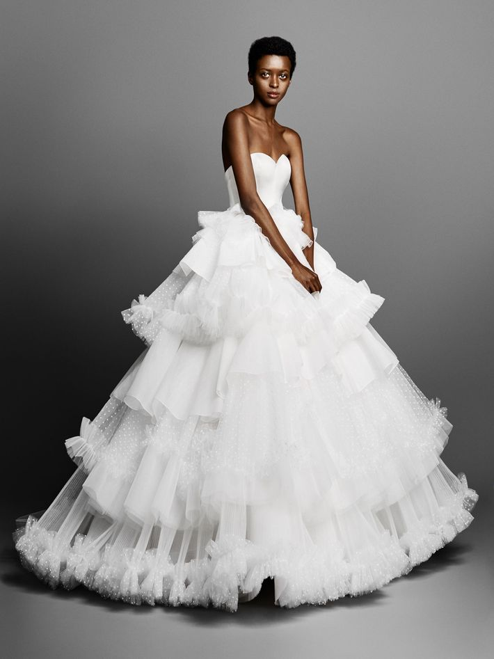 6a1c3154beb The Most Beautiful Wedding Gowns for Spring 2019