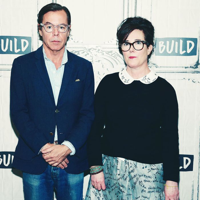 Andy and Kate Spade.