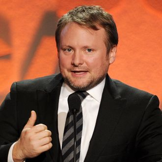LOS ANGELES, CA - FEBRUARY 02: Director Rian Johnson accepts the Outstanding Directorial Achievement in Dramatic Series award for