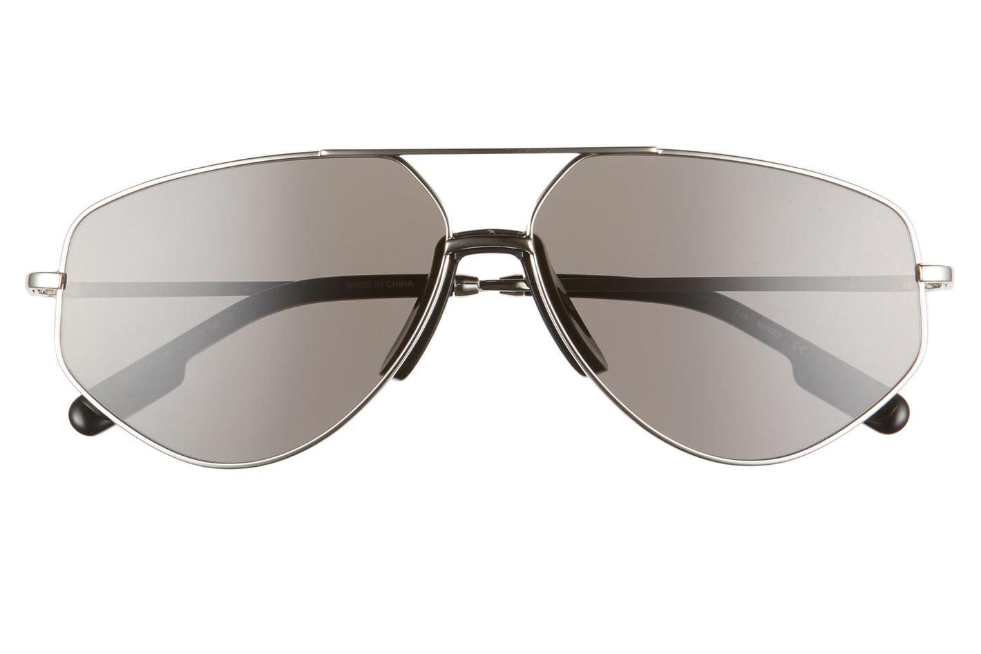 Kenzo 61mm Aviator Sunglasses