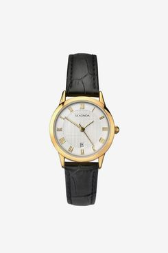 SEKONDA Womens Analogue Classic Quartz Watch with Leather Strap