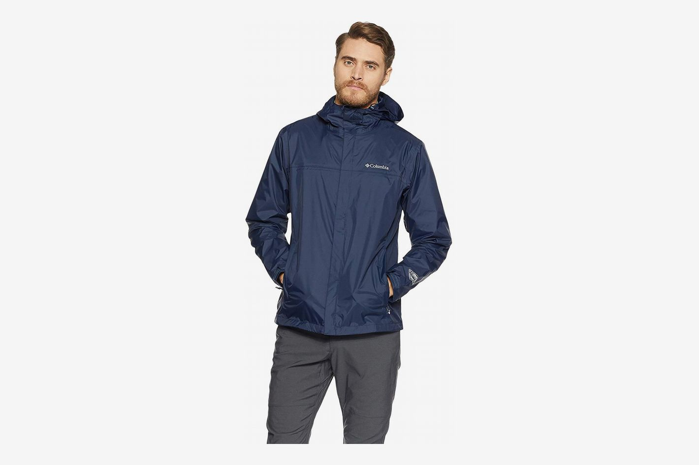 990400d3d80 Columbia Men's Watertight II Front-Zip Hooded Rain Jacket