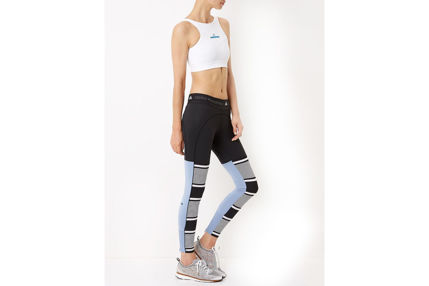 Adidas by Stella McCartney Calf Stripe Leggings