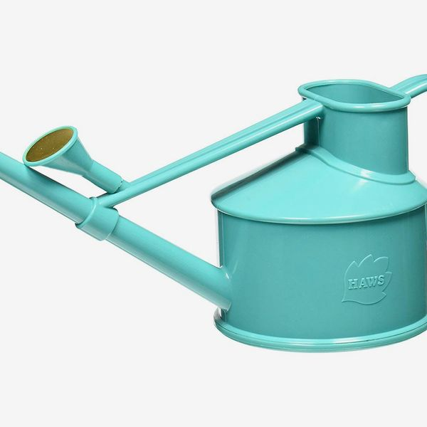 Haws Handy Indoor Plastic Watering Can, 1 US pint, Teal