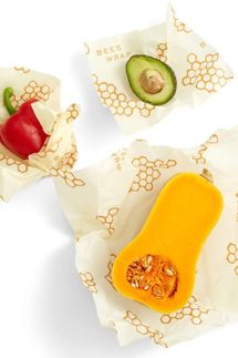Bee's Wrap 3-Piece Sustainable Reusable Food Storage