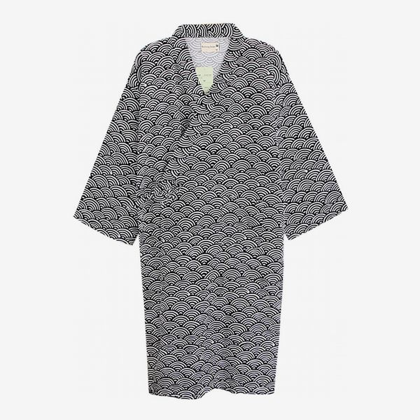 Cotton Kimono Robe Wrap