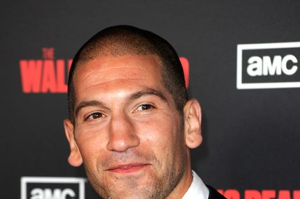 "Actor Jon Bernthal arrives at the premiere of AMC's ""The Walking Dead"" 2nd Season at LA Live Theaters on October 3, 2011"