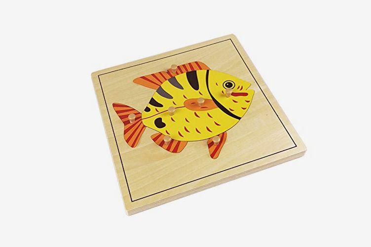 Montessori Fish Puzzle