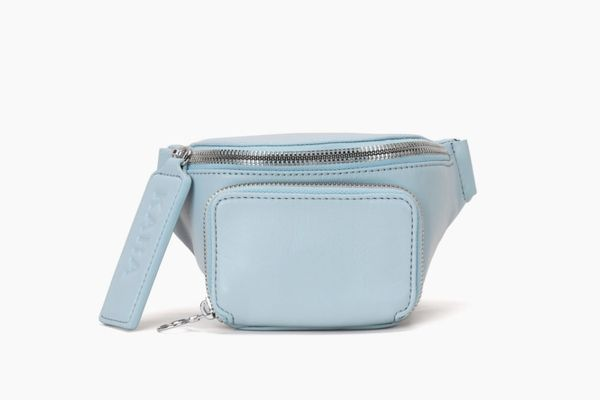 Chambray Leather Bum Bag
