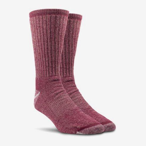 red midweight merino wool hiking socks women - strategist rei winter sale