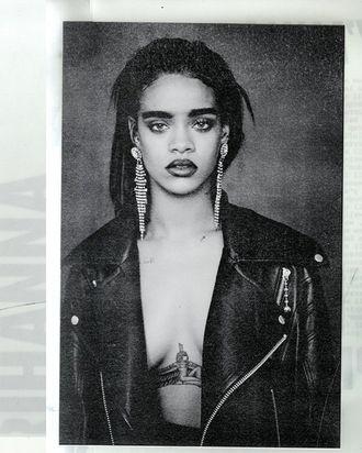 Rihanna's cover art for