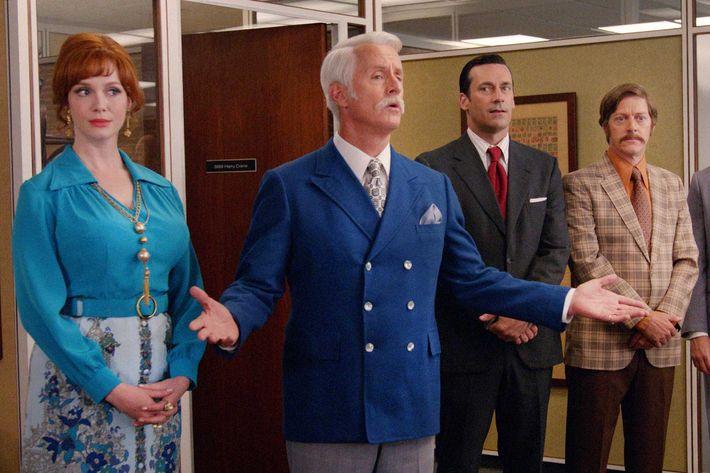 The SC&P Partners in last night's episode of <em>Mad Men</em>.