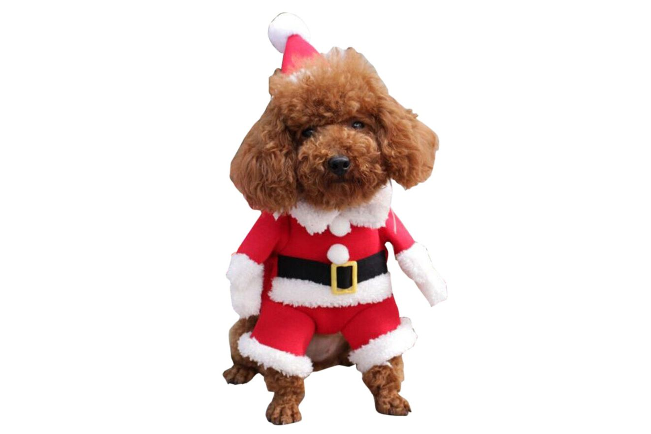 NACOCO Pet Christmas Costumes Santa Claus Suit