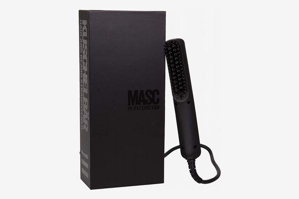 KUSCHELBÄR Heated Beard Straightener Brush from MASC by Jeff Chastain