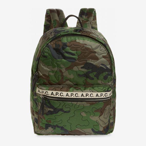 APC sac a dos marc nylon backpack jungle camo