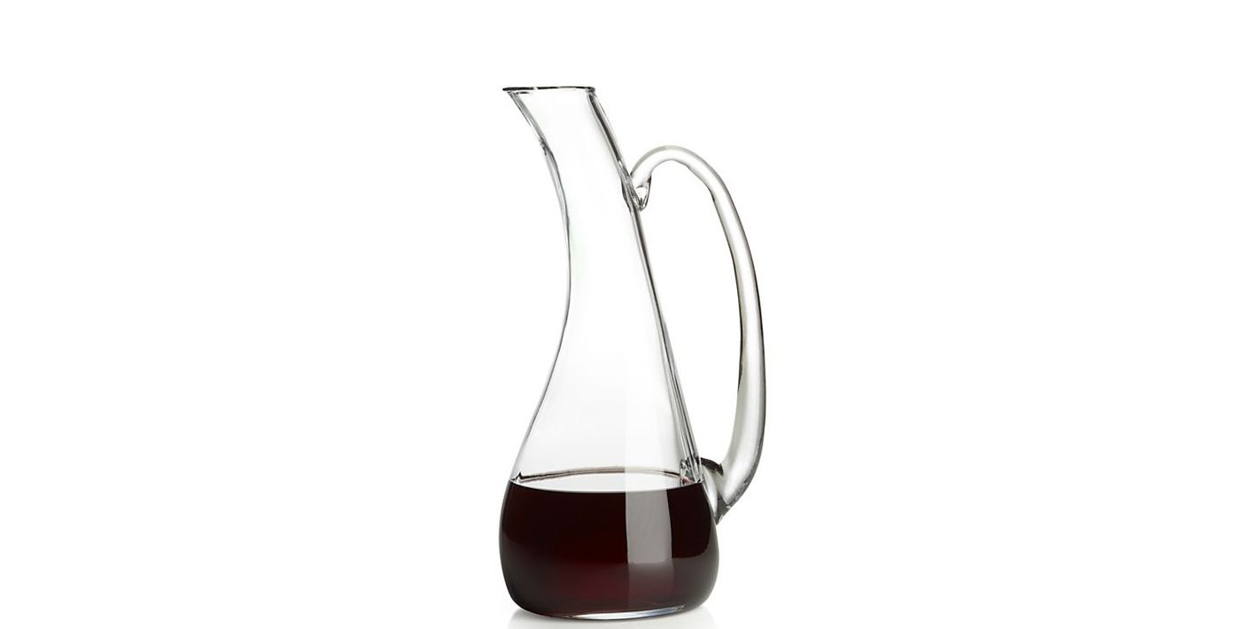 Crate & Barrel Riviera wine carafe