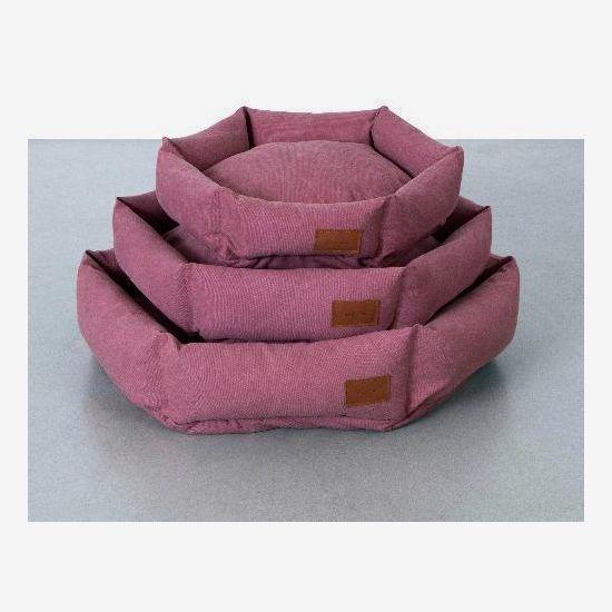 Velvet Hippo Hex Cushion