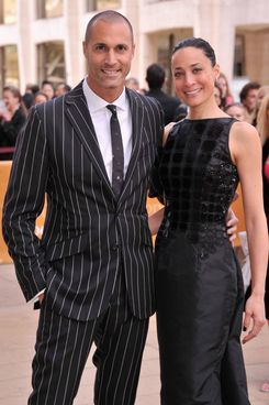 Nigel Barker and Cristen Barker attend the American Ballet Theatre opening night Spring Gala at Lincoln Center on May 13, 2013 in New York City.
