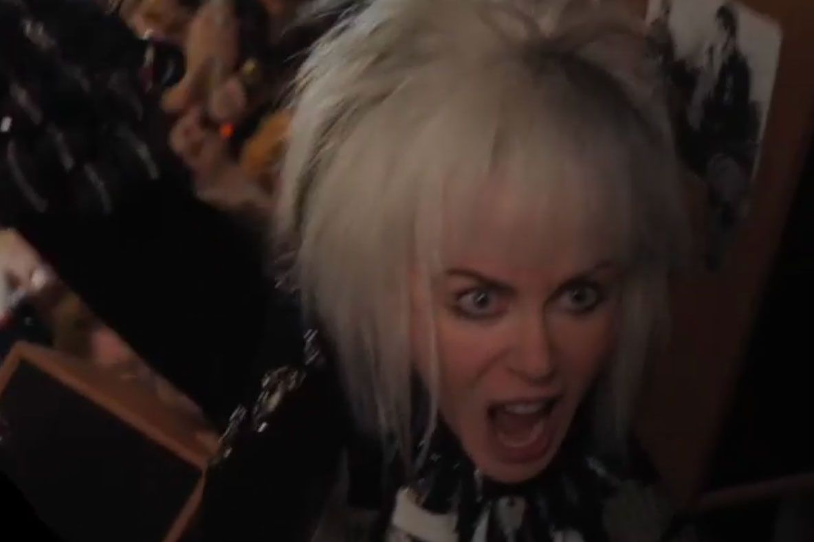 'how To Talk To Girls At Parties': Nicole Kidman Goes Punk
