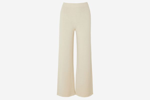 Mansur Gavriel Alpaca and Silk-Blend Pants