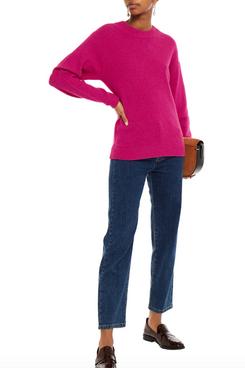 American Vintage Debacity Brushed Merino Wool Sweater