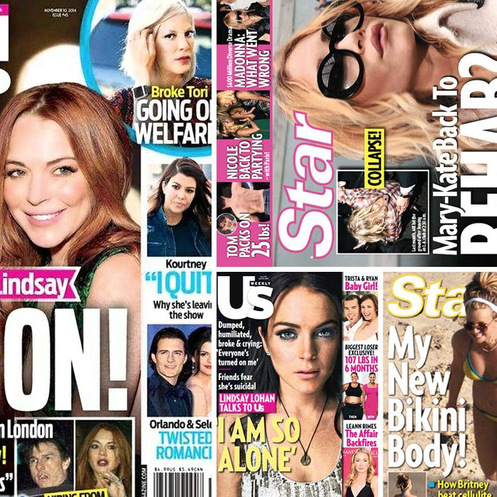 The tabloids of the mid-2000s.
