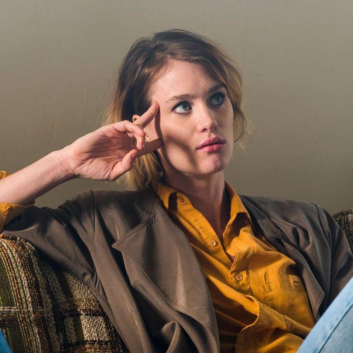Mackenzie Davis as Cameron Howe- Halt and Catch Fire _ Season 3, Episode 3- Photo Credit: Tina Rowden/AMC