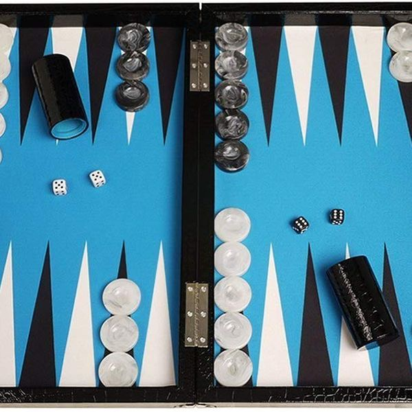 Wycliffe Brothers Tournament Backgammon Set