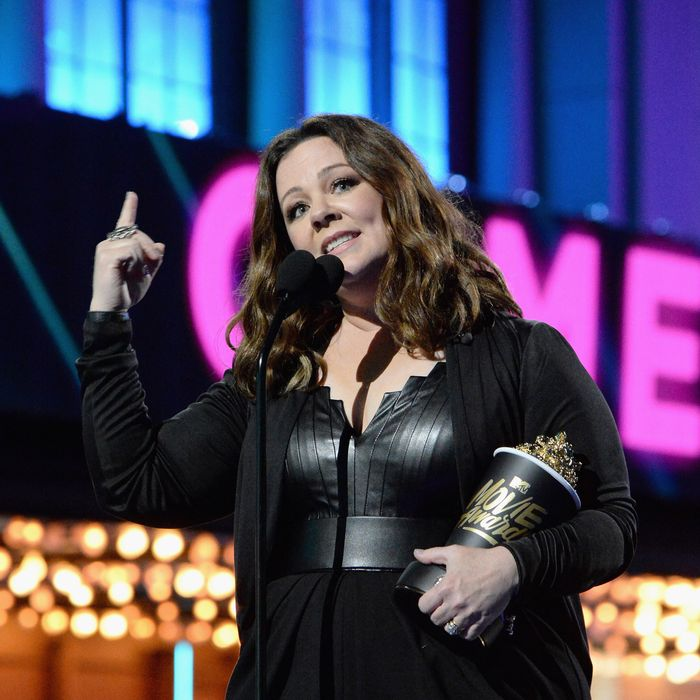 Melissa McCarthy. Photo by Kevin Mazur/WireImage for MTV