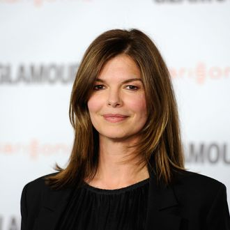 Actress Jeanne Tripplehorn arrives at Glamour Reel Moments 2011 held at the Directors Guild of America on October 24, 2011 in Los Angeles, California.