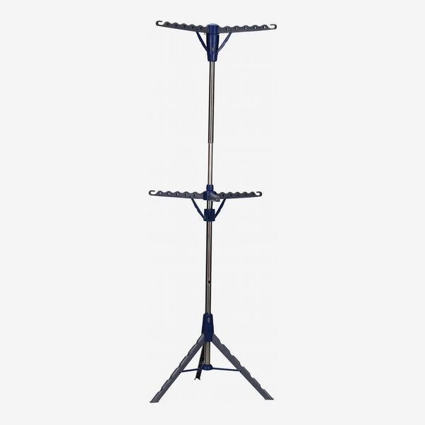 Household Essentials 2-Tier Clothes Drying Rack Tri-pod