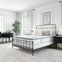 Classic Brands Mercer Pillow Top Cool Gel Memory Foam and Innerspring Hybrid 12-Inch Mattress