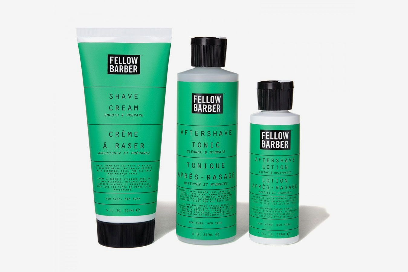 Fellow Barber Shave Regimen Kit