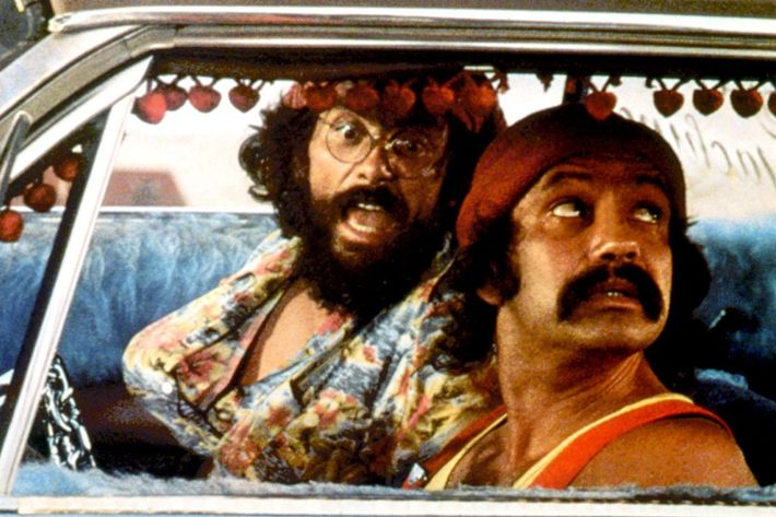 UP IN SMOKE (aka CHEECH AND CHONG'S UP IN SMOKE), Tommy Chong, Cheech Marin, 1978
