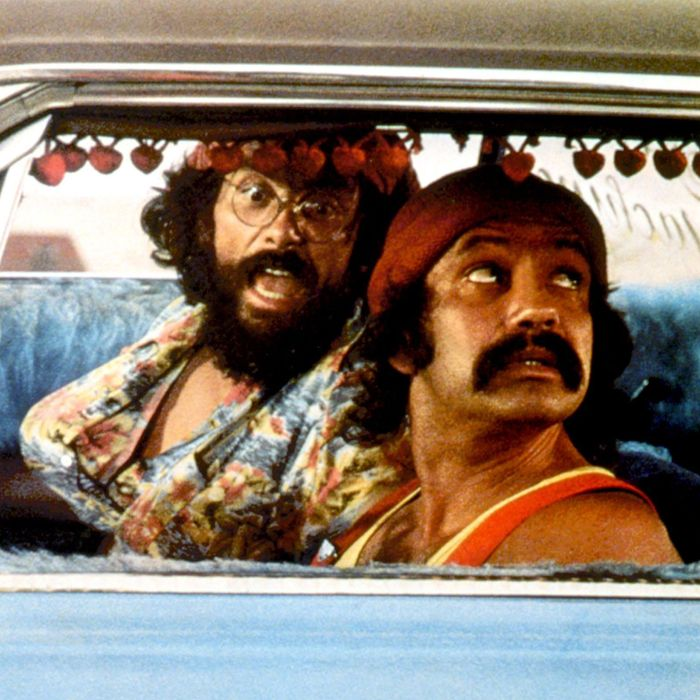 UP IN SMOKE (aka CHEECH AND CHONG'S UP IN SMOKE), Tommy Chong, Cheech Marin, 1978