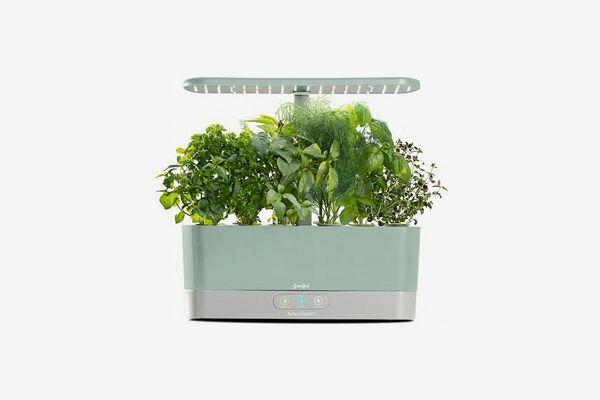 Goodfulby AeroGarden Harvest Slim Countertop Garden & Gourmet Herbs Seed Kit