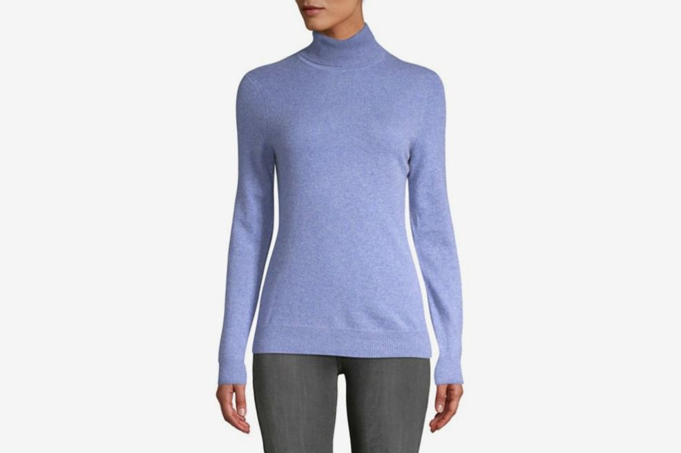 Lord   Taylor Women s Essential Cashmere Turtleneck Sweater d5fe0086e
