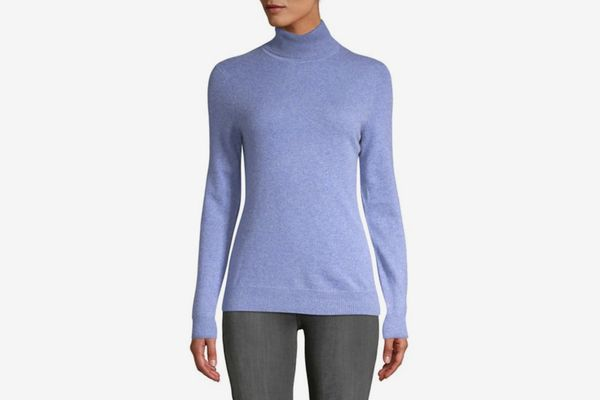 Lord & Taylor Women's Essential Cashmere Turtleneck Sweater